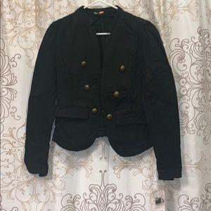 NWT Free People Black Blazer Size Small